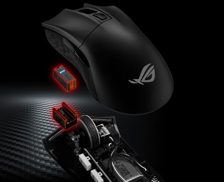 Souris ASUS ROG Gladius II Wireless