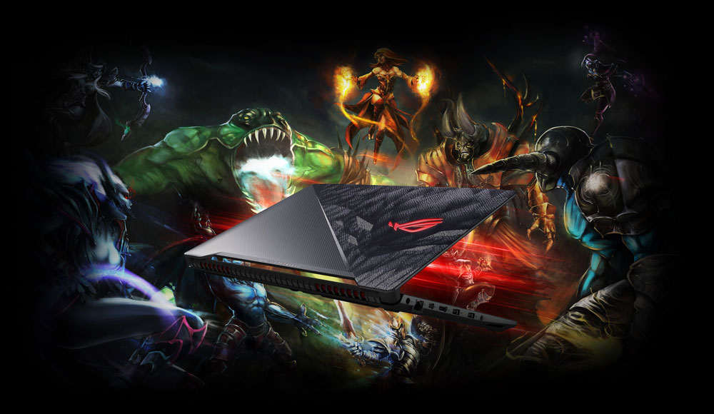 PC Portable ASUS ROG HERO GL503VD