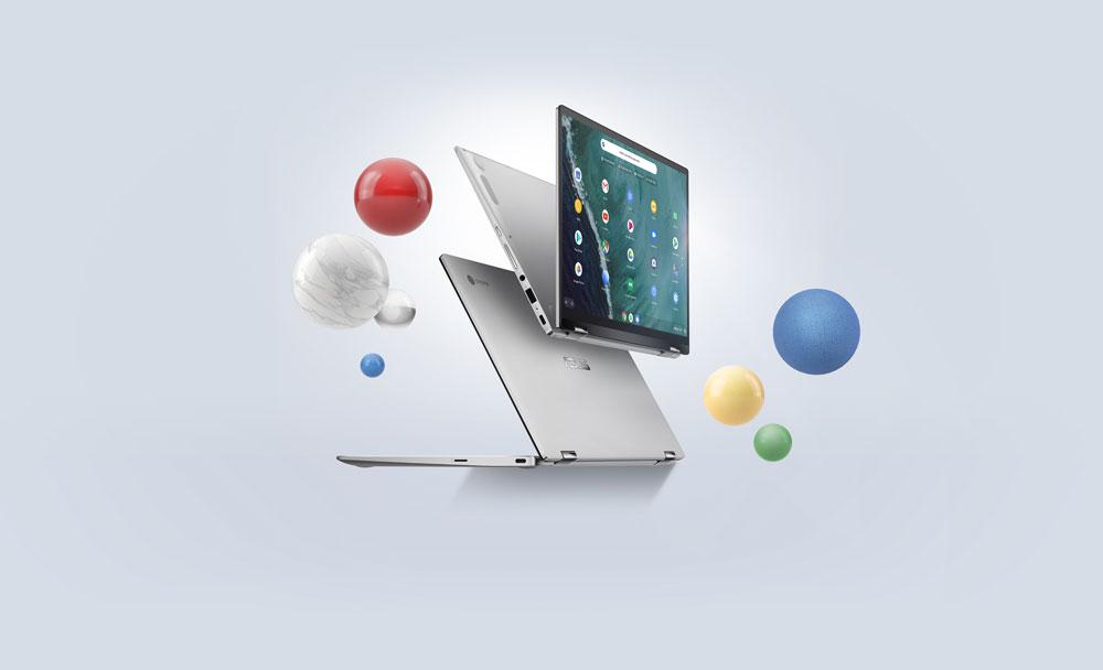 PC Portable ASUS Chromebook Flip C434TA