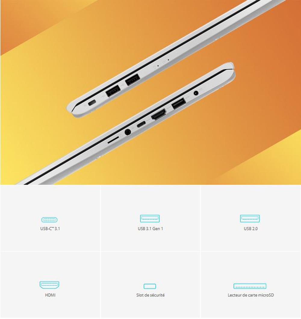 VivoBook S712 Connectivité