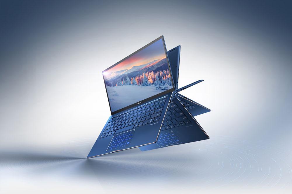 PC Portable ASUS ZenBook Flip 13 avec NumPad