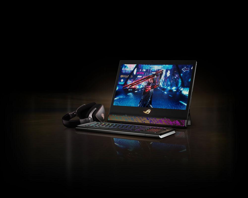 PC Portable ASUS ROG MOTHERSHIP-GZ775GX