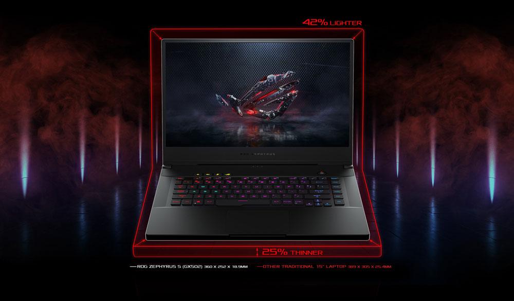 PC Portable ASUS ROG ZEPHYRUS-S-GX535GW-ES040R